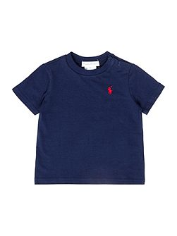 Boys short sleeved t-shirt with poppers
