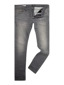 Skinny Fit Mid Rise Jeans
