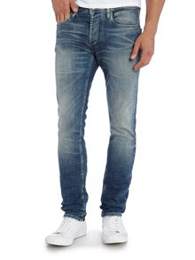 Jack & Jones Washed Out Slim-Fit Jeans