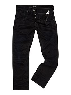 Coated Loose Fit Jeans