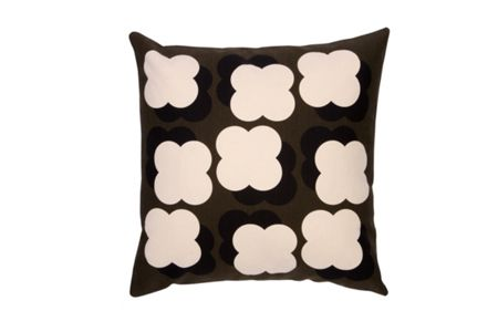 Orla Kiely Shadow Flower Nutmeg Cushion