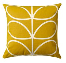 Linear Stem Sunflower Cushion