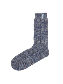Tweed Ribbed Socks