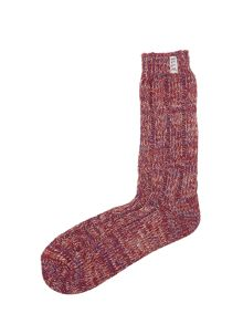 Elle Tweed Ribbed Socks