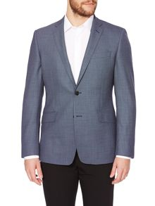 Richard James Mayfair Birdseye Single Breasted Suit Jacket
