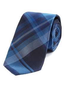 Silk Tie Large Check