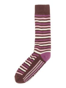 Stripe Slipper Sock Gift Box