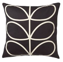 Orla Kiely Linear Stem Slate Cushion