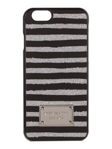Silver stripe IPhone 6 cover