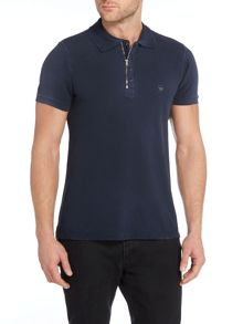 T-Ukyo Regular Fit Zip Neck Polo