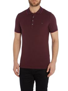 T-Oin Tipped Collar Polo Shirt