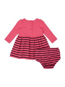 Polo Ralph Lauren Girls Long Sleeved Skirt Dress with Pants
