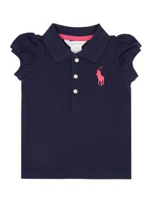 Girls Short Sleeved Polo