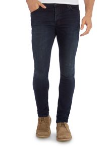 Hell night indigo skinny fit jean