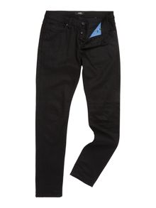 Iggy black raw skinny fit jean