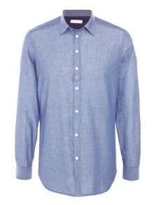 Diesel S-Achai Textured Dot Long Sleeve Shirt