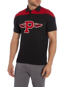 Custom Fit Wings Logo Polo Shirt