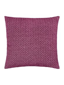 Linea Jacquard weave chenille cushion, purple