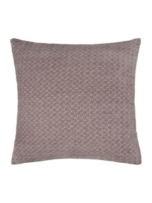 Linea Jacquard weave chenille cushion, grey