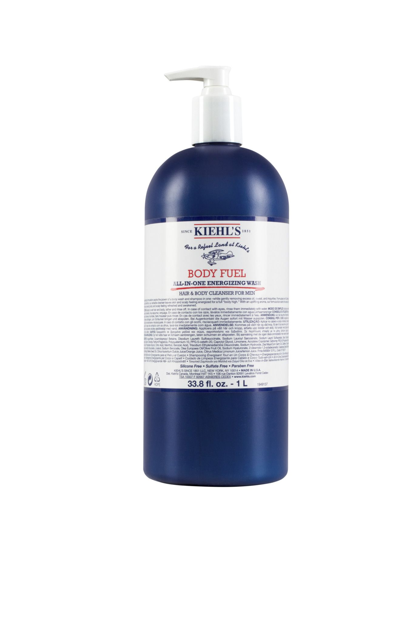 Kiehls Body Fuel 1L