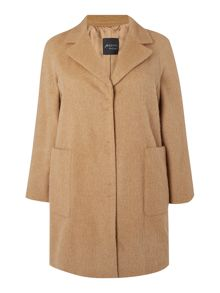 Persona Oversize pocket wool coat