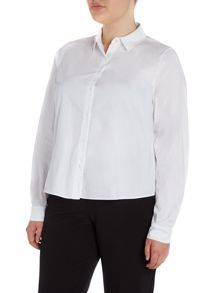 Bavarese high low shirt