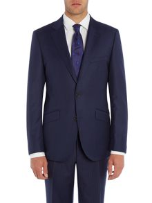 Simon Carter Single Breasted Sharkskin Suit
