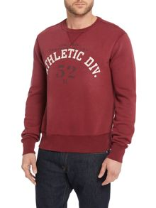 Athletic Div Crew Neck Sweater