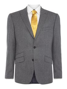 Simon Carter Single Breasted Flannel Suit