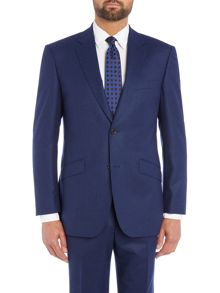 Simon Carter Single Breasted 3 Button Flannel Suit