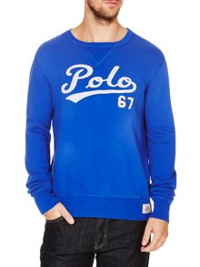 Polo Ralph Lauren Polo Script Crew Neck Sweater