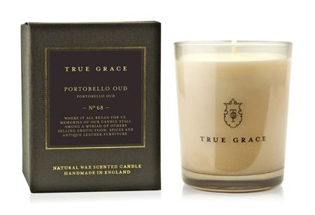 True Grace Manor Portobello Oud Candle