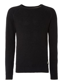Crew Neck Long Sleeve Jumper