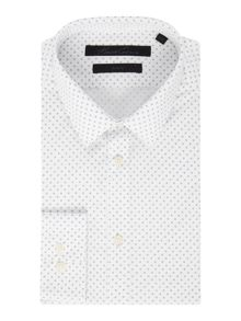 Kenneth Cole Brennon Circle Print Shirt
