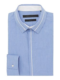 Men's Kenneth Cole Brake Insert Collar and Placket