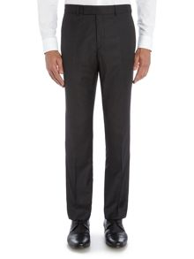 Regular Semi Plain Squares Trousers