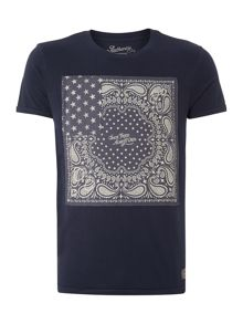 Jack & Jones American Printed Crew Neck T-shirt
