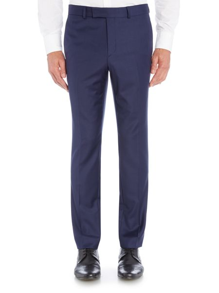 Simon Carter Regular Sharkskin Trousers