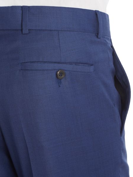 Simon Carter Slim Sharkskin Peak Trousers