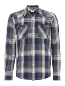 Levi's Barstow western slim fit plaid shirt