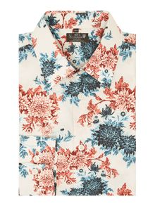 New & Lingwood Corby Floral Print Shirt