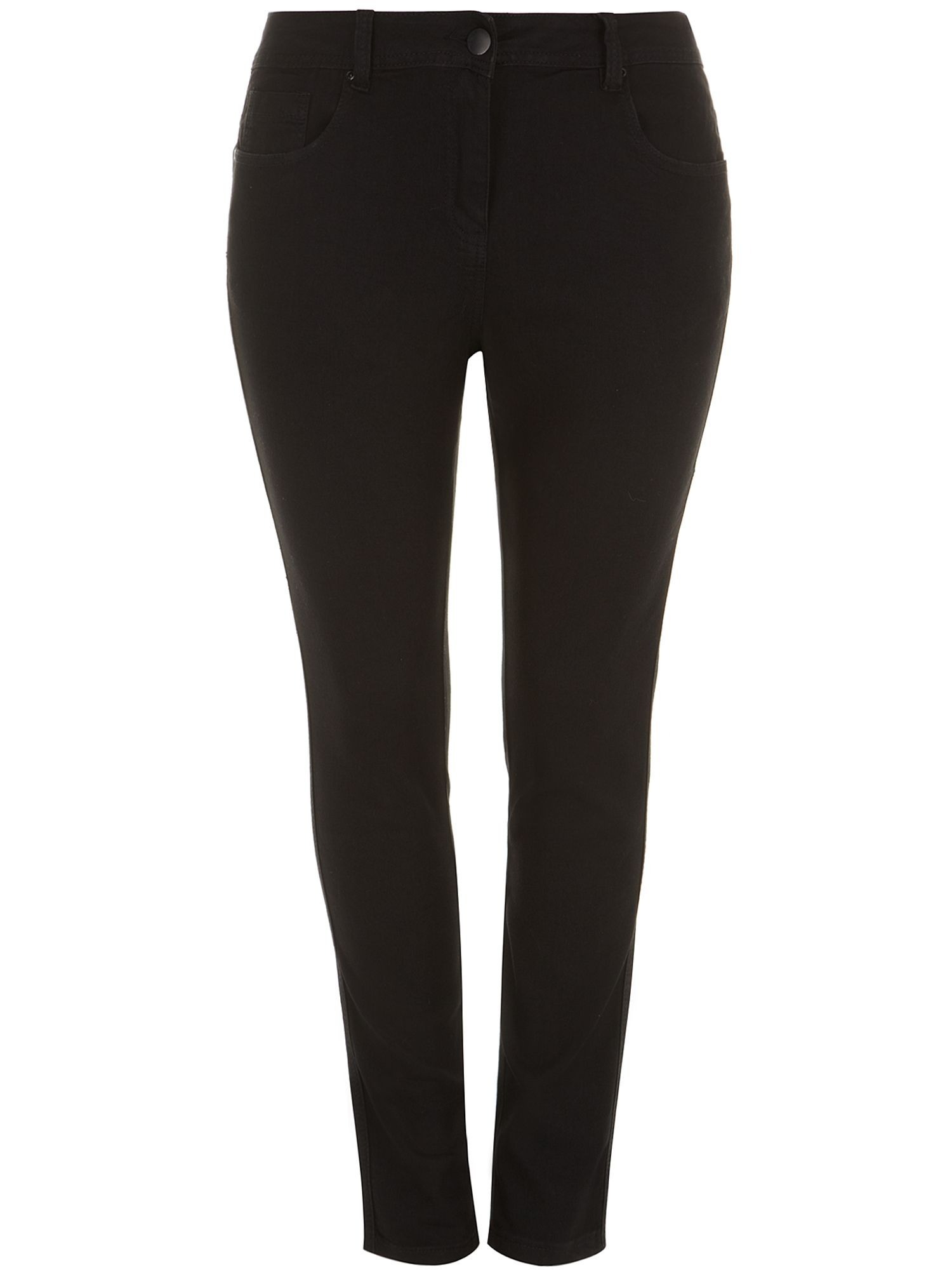 Black super stretch jeans