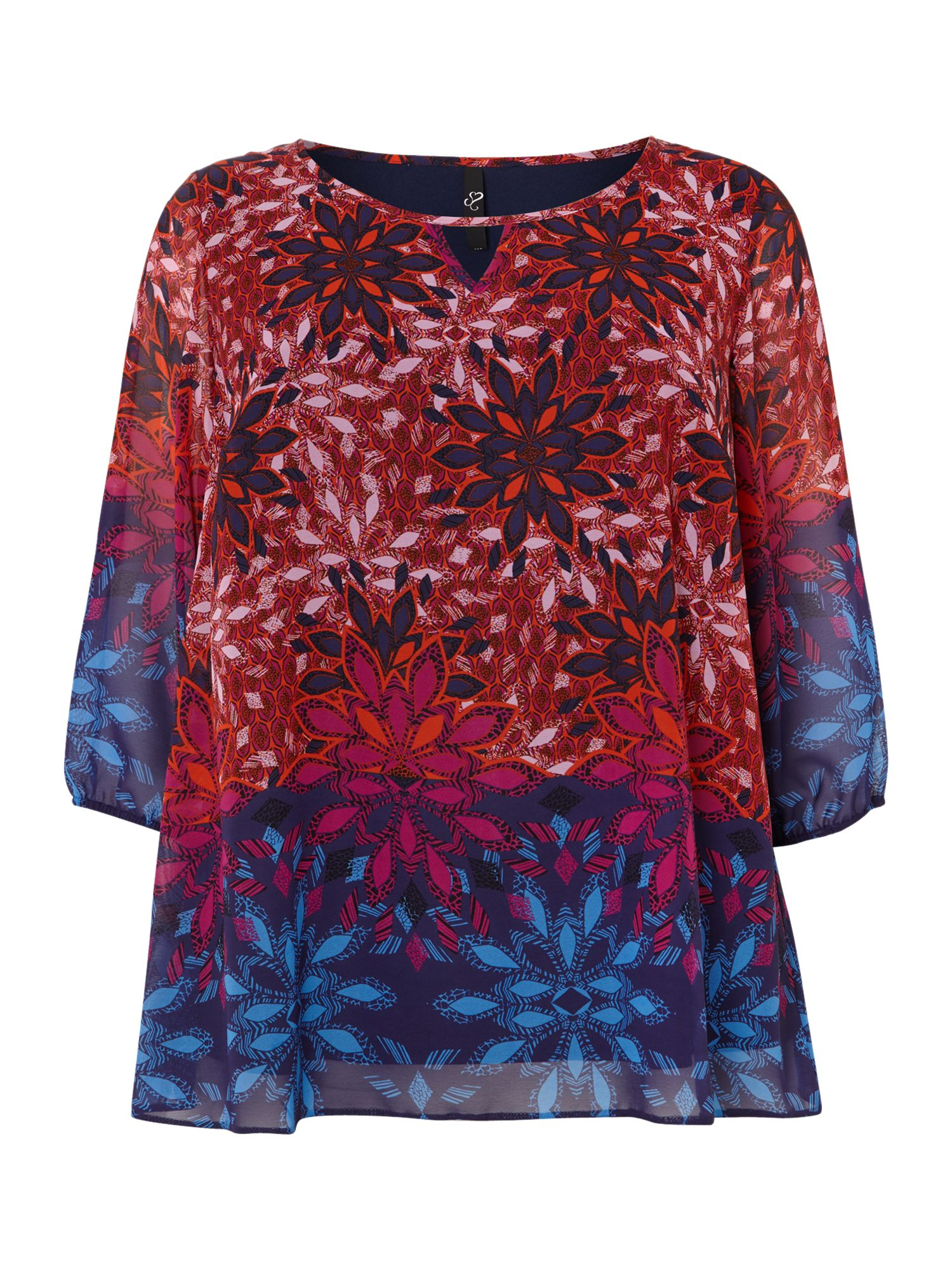 Global print border top