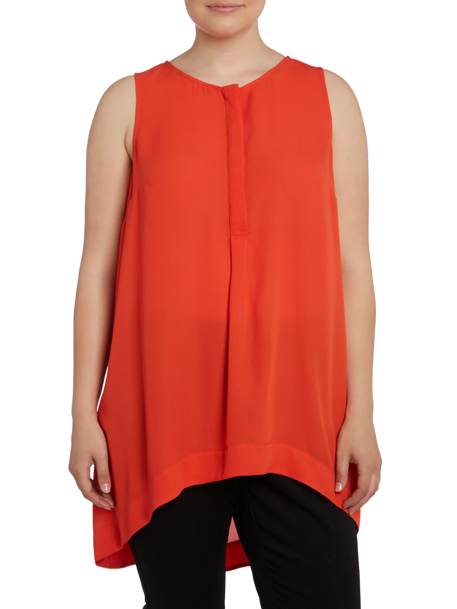 Live Unlimited for Evans shaped hem top