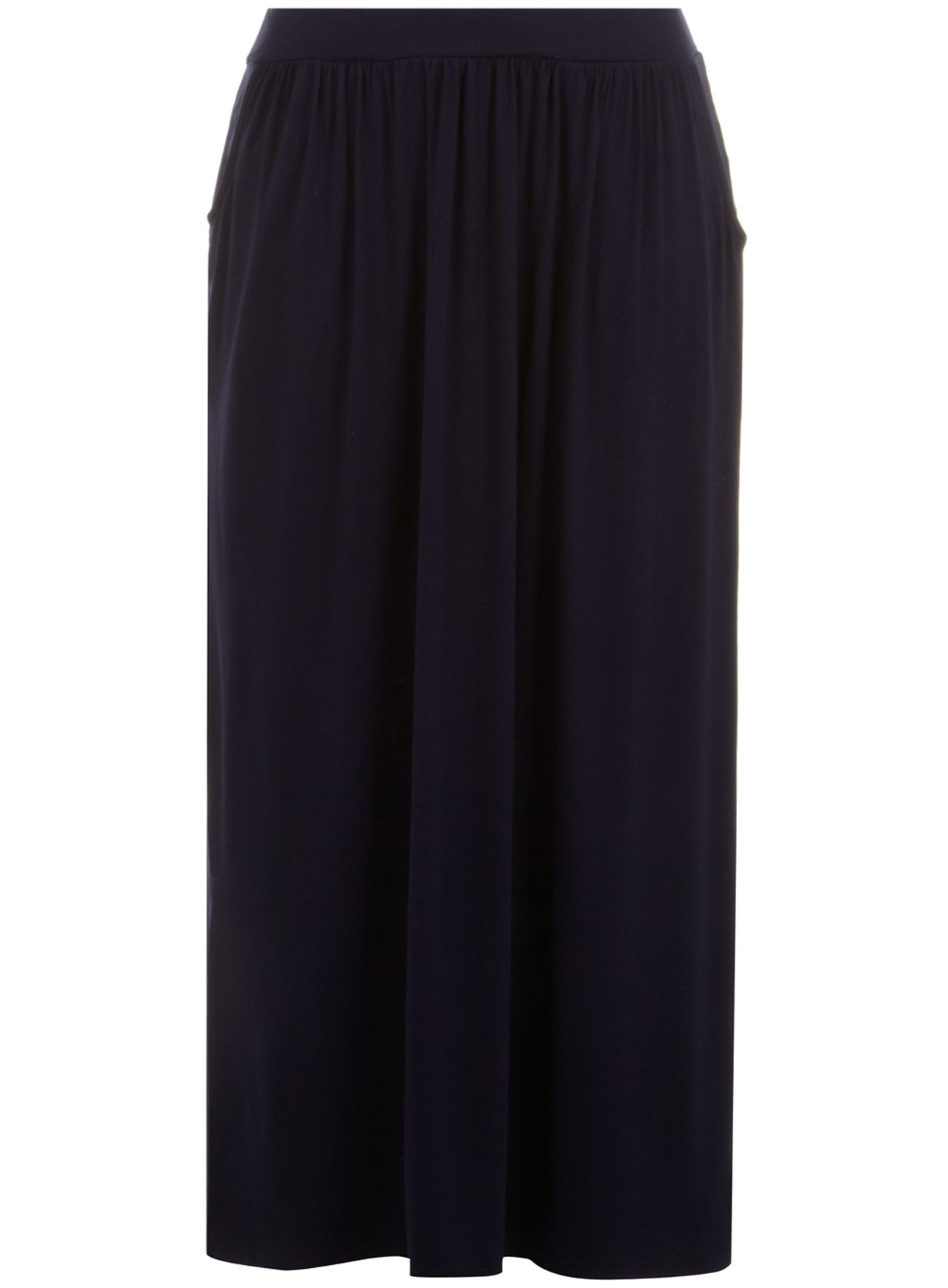 Navy Pocket Maxi Skirt