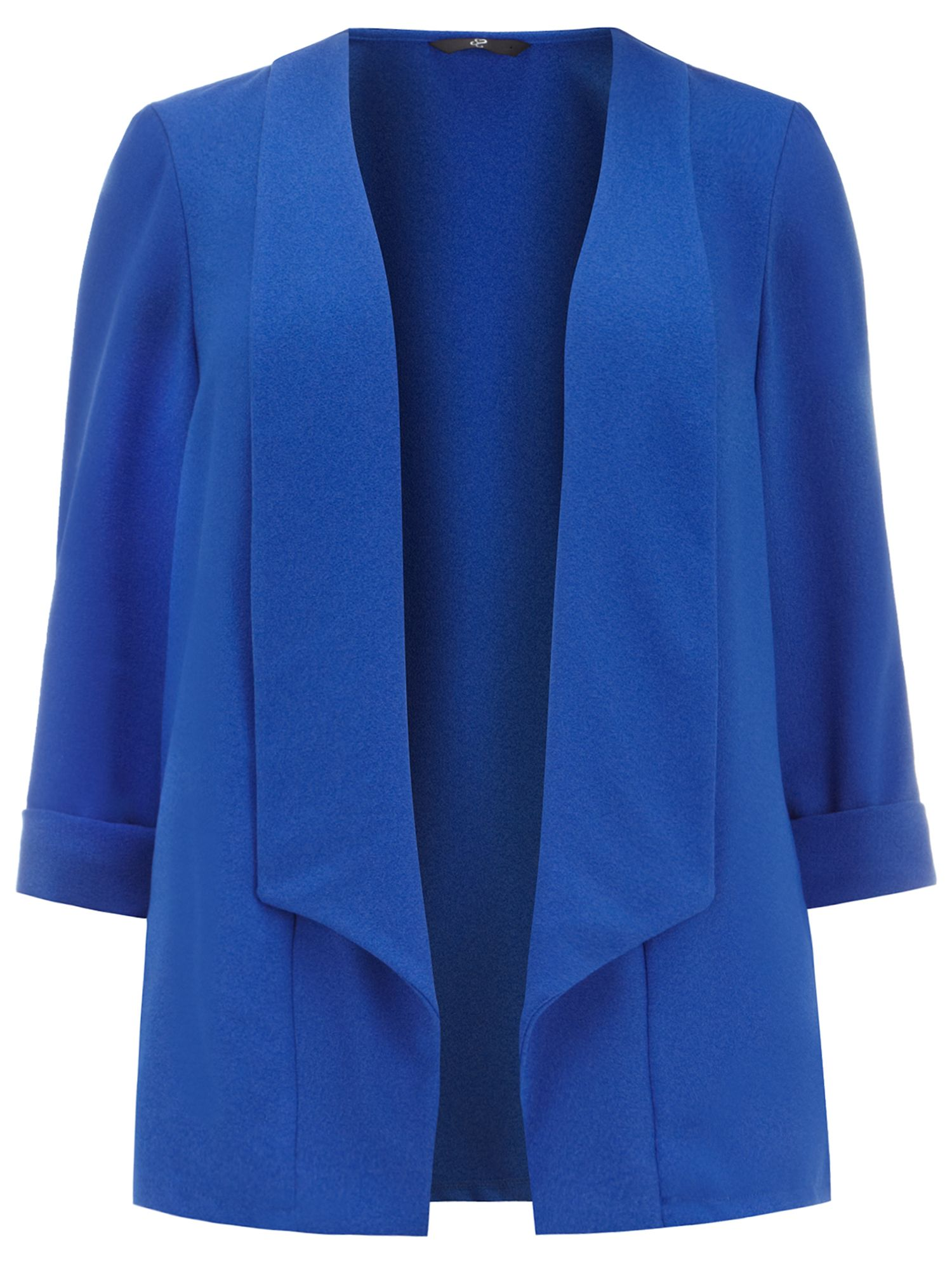 Blue Crepe Jacket