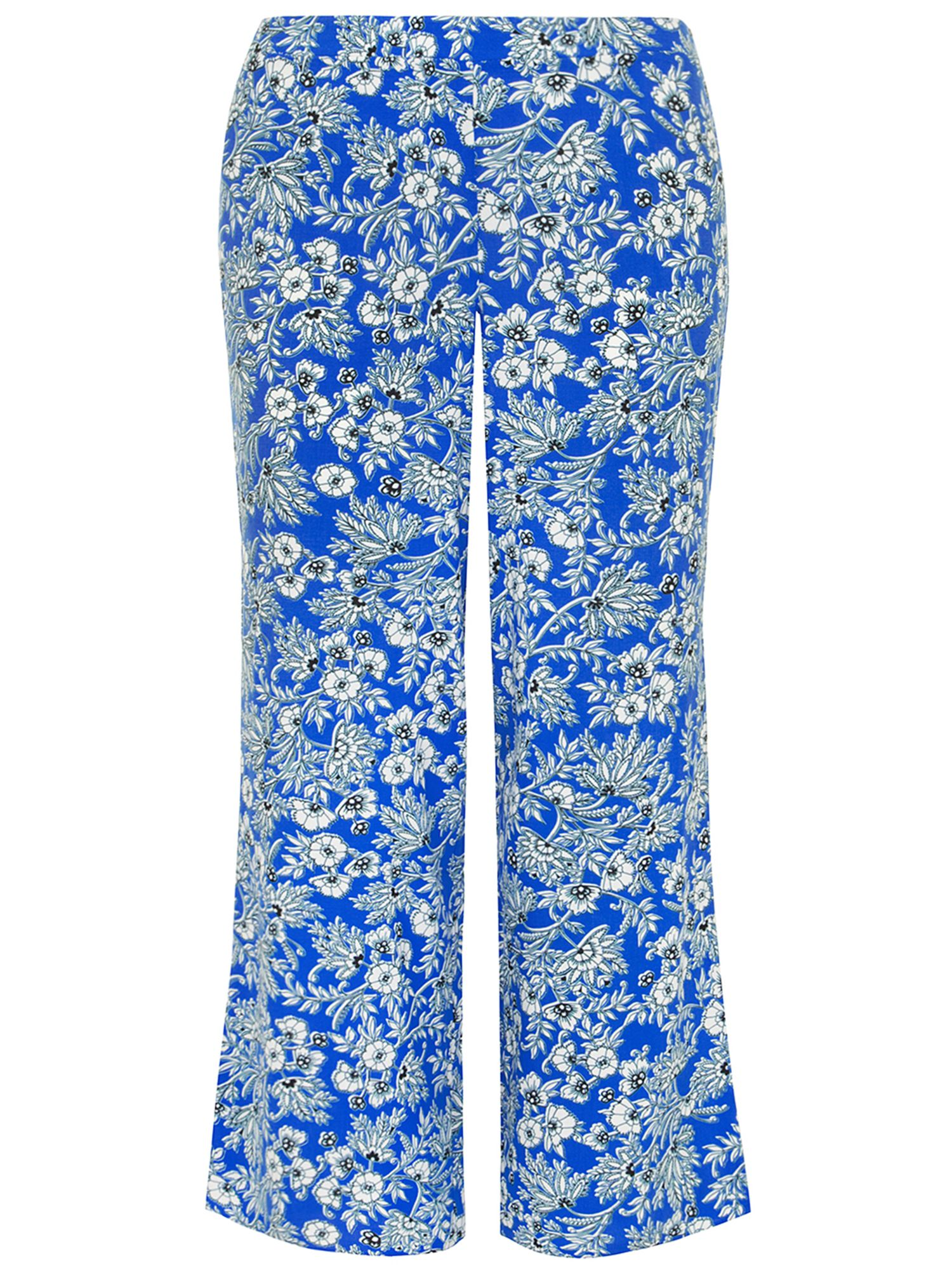 Blue Jersey Tapered Trouser