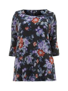 Soft Touch Floral Top