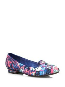 Blurred Print Slipper Print