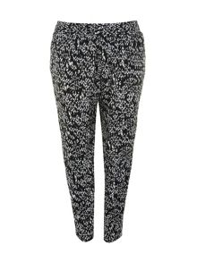 Plus Size Animal print trousers